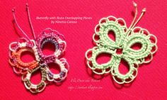 Tatting: We make lace with lots of little knots!