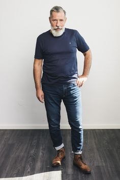 #grey_is_the_new_cool #50+ #never_too_old #silverfox Men's Style, Anatomy, 50th, Hipster, Mens Fashion, Grey, Male Style, Moda Masculina, Gray