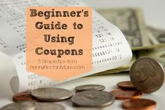 If you are new to using coupons, it can be very overwhelming?  There is a coupon language and then understanding when you can use them, how to use them and to really make them work.  Check out this Beginnger's Guide to Using Coupons -- 5 Simple Tips!!