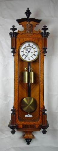 GUSTAV BECKER VIENNA REGULATOR CLOCK