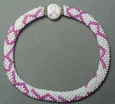 Ribbon Bracelet-Bead Crochet Pattern by Sharon Boehme at Bead-Patterns.com