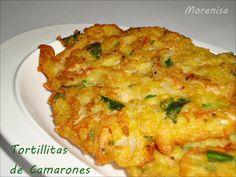 LA COCINA DE MORENISA: Tortillitas de Camarones