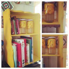 Librero al estilo Carmela de los organizadores Sol Echevarria SE