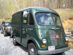1956 S-120 Metro. The coolest delivery truck of all time.