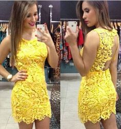 Vestido Curto Festa Balada Formatura Renda Frete Gratis - R$ 89,90 no MercadoLivre