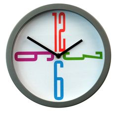modern clock; fun for a child's room