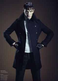Julien Sabaud Sports Serious Outerwear for Les Echos Série Limitée. Homens  Formais c2c844ef93011