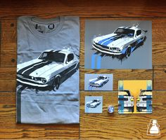 1015667e The Mustang Collection from IROK Clothing www.IROKclothing.com Mustang T  Shirts, Classic