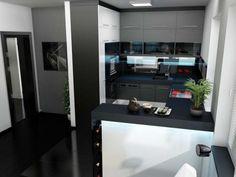 Kitchen design 9 sq m