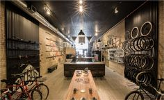 Handsome Cycles / Retail Store designed by Joe Anderson, Meenal Patel and Marina Groh [KNOCK inc]