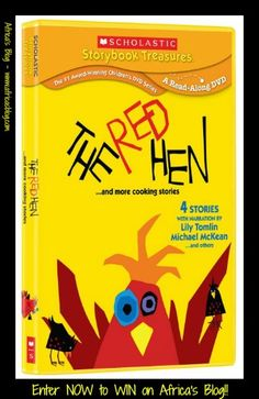 The Red Hen...And More Cooking Stories ~ Children's DVD! Review & Giveaway