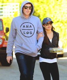 Cory Monteith and Lea Michele on a Lunch date at Aroma Cafe in Studio City, CA. <3 #monchele