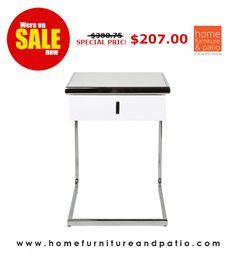 Whiteline Modern Living Havana Side Table - Close Out Sale - 30% Off! #sale #Sidetable