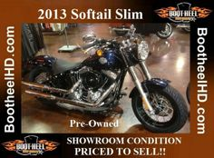 2013 Softail Slim Pre-Owned Used Harley Davidson, Motorcycle, Slim, Motorcycles, Motorbikes, Choppers
