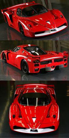 2008 Ferrari FXX Evoluzione / 850hp 6.3l V12 / Italy / Red White · Ferrari  FxxKit CarsCrazy ...