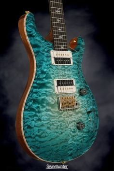 PRS Private Stock Custom 24, McCarty Thickness - Bahama Blue Glow