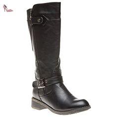 Lotus Kiln Femme Boots Noir - Chaussures lotus (*Partner-Link)