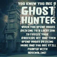 More like sweating instead of freezing. Hunting Humor, Hunting Quotes, Hunting Stuff, Paranormal Equipment, Paranormal Society, Ghost Hauntings, Kami Garcia, Ghost Pictures, Ghost Adventures