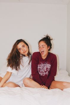Sleepover photo shoot