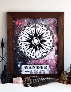 Not All Those Who Wander Are Lost - Limited Edition Hand Printed Silkscreen Print/Poster - Hero Design Studio. $30.00