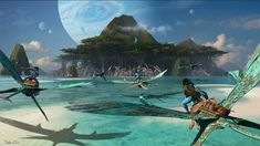<em>Avatar 2</em>'s new tropical settings and creatures revealed in concept art