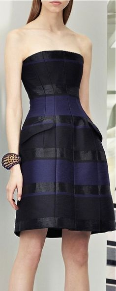 Christian Dior, 2013.  Nice structured dress.