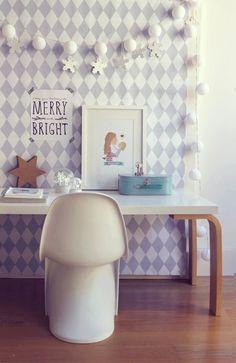 mommo design: IKEA HACKS    kids desk hackable with LINNMON tabletop and FROSTA stool legs