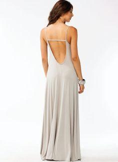 $43 Scoop Back Maxi Dress