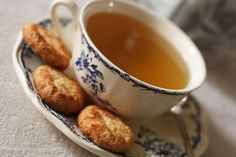 tea and coconut biscuits