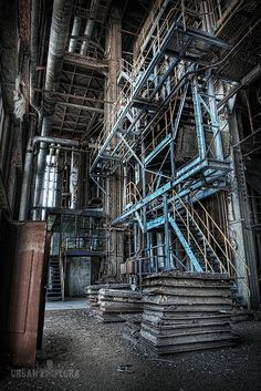 Exploring an abandoned power plant would be the best vacation for me.