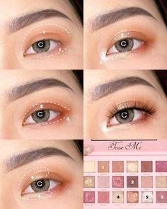 Makeup Inspo, Makeup Inspiration, Makeup Tips, Makeup Art, Beauty Makeup, Skin Makeup, Makeup Eyeshadow, Ulzzang Makeup, Korean Eye Makeup