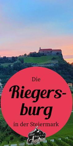 Die Riegersburg, das Wahrzeichen der Oststeiermark, ist definitiv einen Besuch wert. Kirchen, Austria, Movies, Movie Posters, Travel, Mosques, Castles, Road Trip Destinations, Hiking
