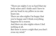 Nights....