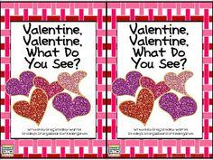 Free!  Valentine's day emergent reader!