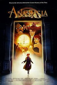 Anastasia is a 1997 American animated musical fantasy drama film produced by Fox Animation Studios and distributed by Century Fox. Directed by former Disney animation directors Don Bluth and Gary Goldman, Princesa Anastasia, Disney Movie Posters, Disney Movies, Disney Music, Disney Songs, Cartoon Movies, Disneyland Movies, Thalia, Movies Showing