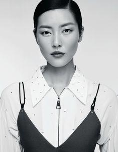 Liu Wen for Marie Claire China December 2015 - Louis Vuitton Resort 2016