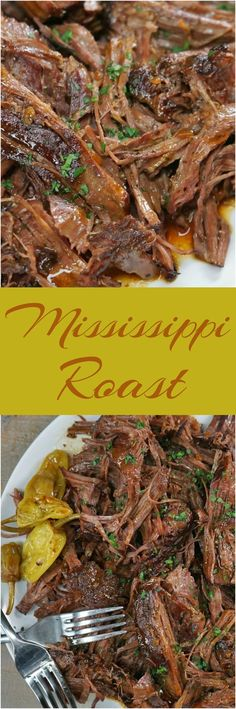This sensational 5-ingredient pot roast is hands down the easiest roast beef you'll ever make--you'll have the prep done faster than you can spell Mississippi.