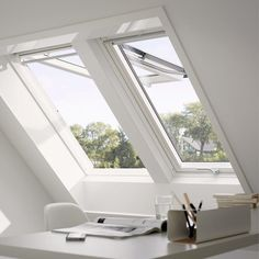 VELUX 31-1/4 in. x 46-7/8 in. Egress Top Hinged Roof Window with Laminated LowE3 Glass-GPU