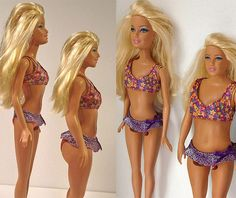 "What a ""normal size"" Barbie would look like. YEAH!!!!!!"