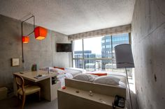 The Line Hotel – Los Angeles / Daniel Mann Johnson + Mendenhall renovated by Knibb Design
