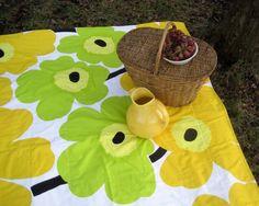 Marimekko picnic blanket by Sewn Natura
