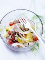 Salade tahitienne.