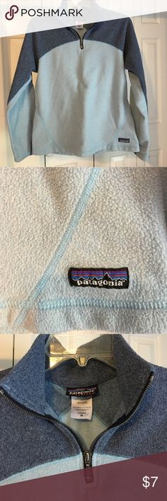 Patagonia 1/2 Zip Sweater Great condition - only worn a few times . Thick material -super cozy ! Patagonia Sweaters