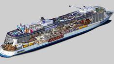 Ovation of the Seas, nuevo barco Quantum de Royal Caribbean.