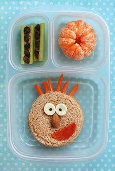 fun kid lunch ideas here Lunch Box Bento, Lunch Snacks, Sandwich Bar, Chicken Sandwich, Good Healthy Snacks, Healthy Kids, Toddler Meals, Kids Meals, Kids Lunch For School