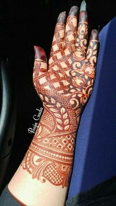 Khafif Mehndi Design, Floral Henna Designs, Latest Bridal Mehndi Designs, Full Hand Mehndi Designs, Mehndi Designs 2018, Henna Art Designs, Mehndi Designs For Beginners, Mehndi Designs For Girls, Mehndi Design Photos