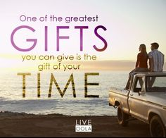 The gift of time Gift Of Time, Tip Of The Day, Great Words, Best Quotes, Awesome Quotes, New Tricks, Positive Thoughts, Encouragement, Great Gifts