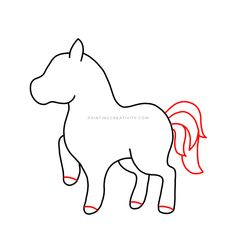 Learn how to draw a unicorn in 9 easy to follow steps. A complete tutorial for kids and adults alike. How to draw one of the most beautiful creatures. Cute Fantasy Creatures, Mythical Creatures, Beautiful Creatures, Unicorn Drawing, Beautiful Unicorn, Pencil Eraser, Learn To Draw, Easy Drawings, How To Look Pretty