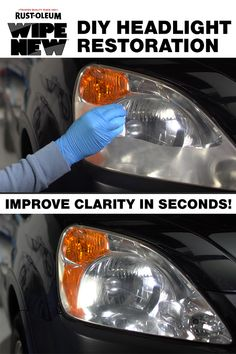Diy Car Cleaning, Household Cleaning Tips, Diy Cleaning Products, Foggy Headlights, How To Clean Headlights, Cleaning Headlights, Car Gadgets, Gadgets And Gizmos, Car Essentials