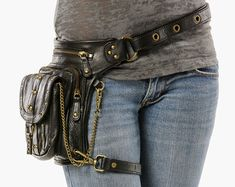 Chrome Uptown Pack Thigh Holster Protected Purse by WCCouture
